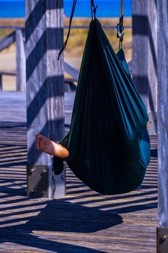 travel hammock needs to be brought while travelling