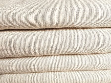 Bamboo linen fabric as the organic and friendly product for environment