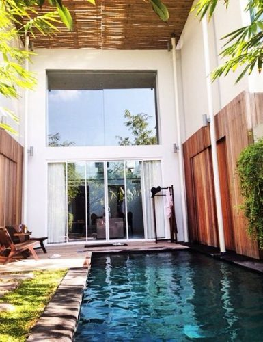 Luxury villas Seminyak beachfront as your best choice accommodation while traveling in Bali