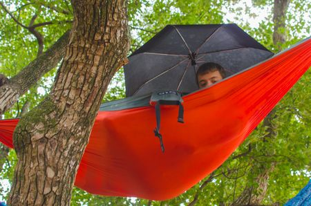 portable camping hammock as the best travel gear ever