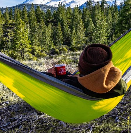 Hammock for your best ever camping gear