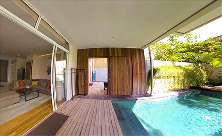 Peaceful luxury 5 bedroom villas Seminyak