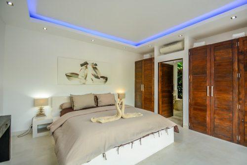 Main bedroom Canggu villas - viilabalisale
