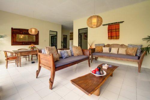 Villas in Seminyak Living Room